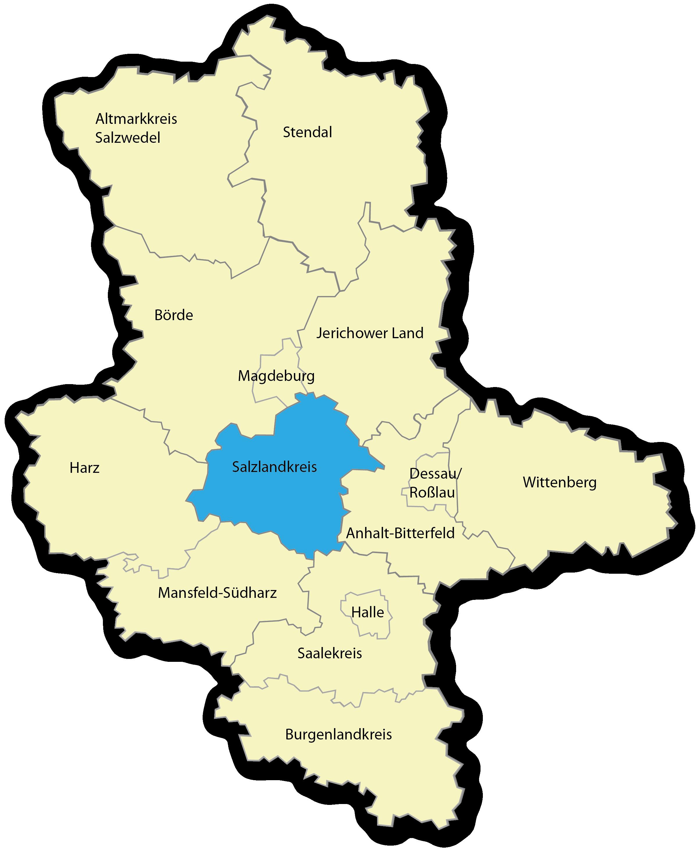 Salzlandkreis | Landkreis-Porträt